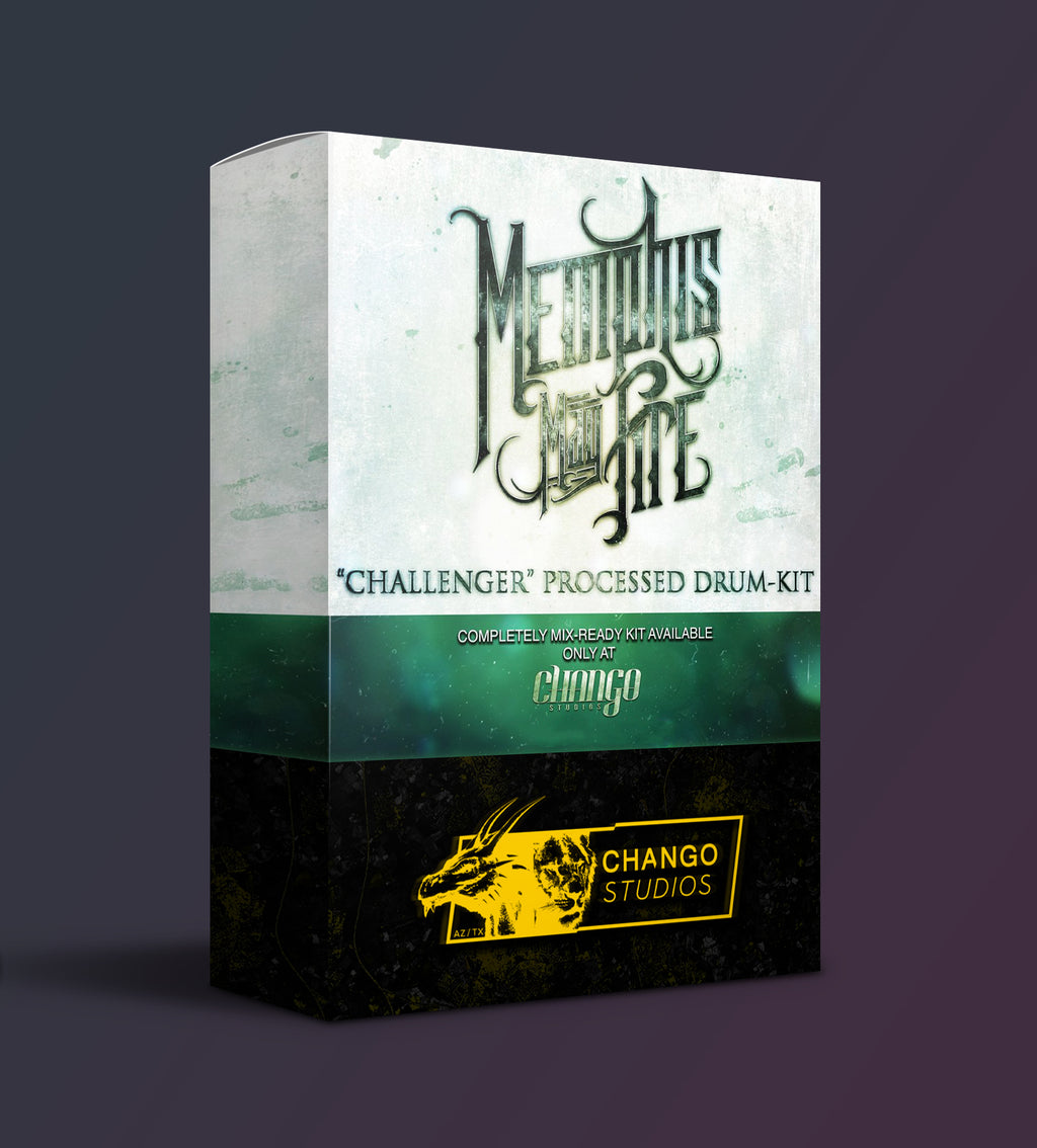 "!!!|||[ NEW ]|||!!! Chango Studios Memphis May Fire ""Challenger"" Processed Drum"