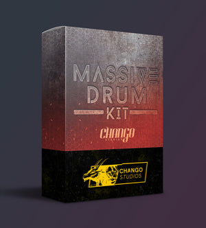 !!!|||[ NEW ]|||!!! Chango Studios Massive Drum Kit (Includes 2 Different Processed Versions!)