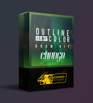 *NEW* Chango Studios Outline In Color Drum Kit
