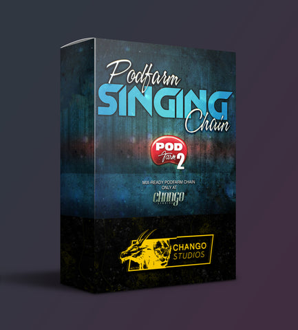 Singing Vocal Chain Pod Farm Preset