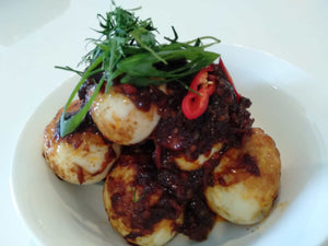 Spicy Balinese Curry Egg (Telur Pedas)