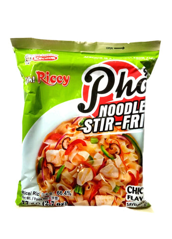 Oh! Ricey Pho Noodle Stir-Fried (Chicken Flavour) 77g 鸡肉味河粉