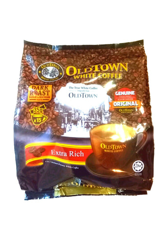 Old Town White Coffee (Extra Rich) 35g x 15's 旧街场白咖啡(特浓)