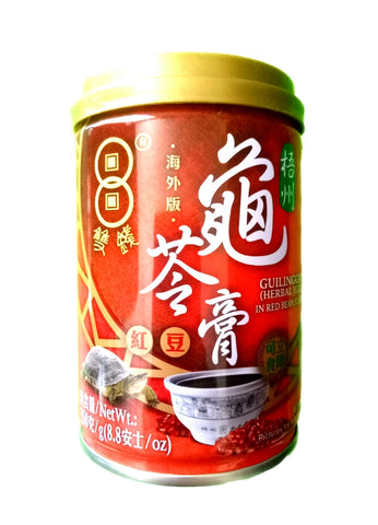 Gui Ling Gao (Herbal Jelly) In Red Bean Flavour 250g 红豆龟苓膏