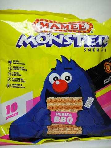 Picture of Mamee Monster (BBQ) 25g x 10's