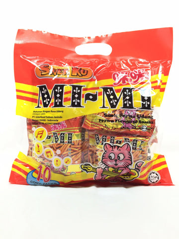 Picture of Mi Mi (Prawn Flavoured Snack) 25g x 10's