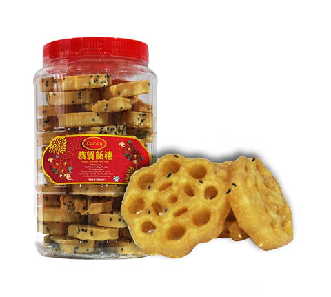 Picture of Nyonya Honeycomb Biscuits Black Sesame 380g