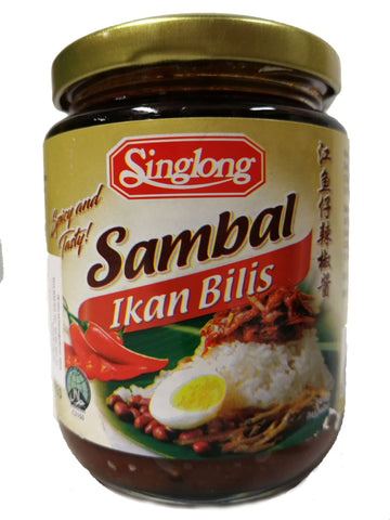 Picture of Sing Long Sambal Ikan Bilis 230g