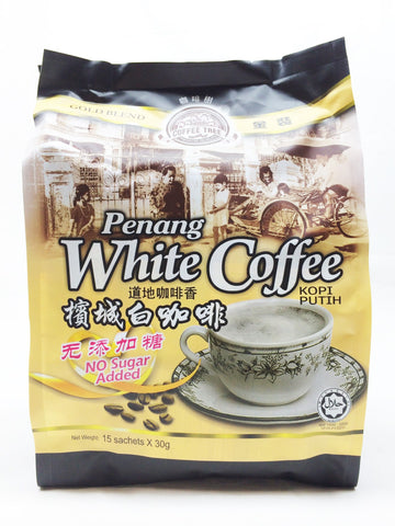 Picture of Penang White Coffee (NO SUGAR) 30g x 15's