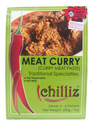 Picture of Chilliz-Meat-Curry-Paste-200g