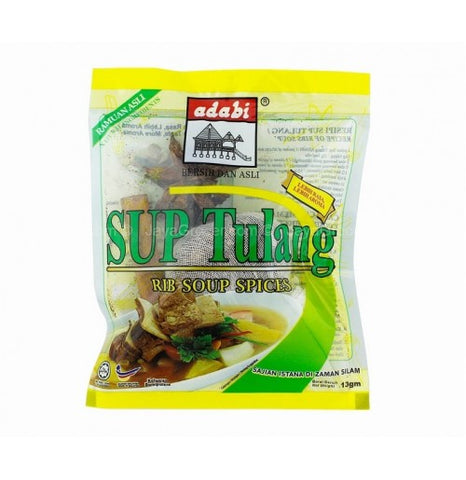 Picture of Sup Tulang (Bone Soup) Spice Mix 13g x 4's