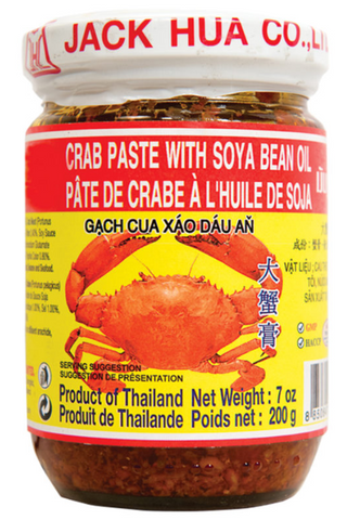 Jack Hua Co Crab Paste with Bean Oil 200g