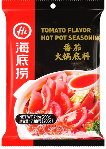 Hai Di Lao Tomato Flavor Hot Pot Base 200g