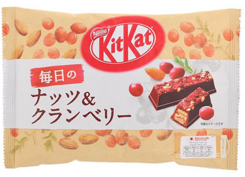 Kit Kat Mini Nuts & Cranberry 109g