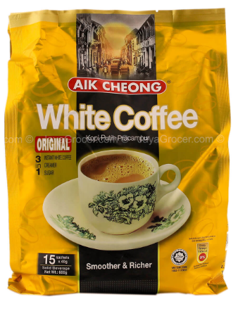 Aik Cheong white coffee (Original) 3 in 1 40g * 15