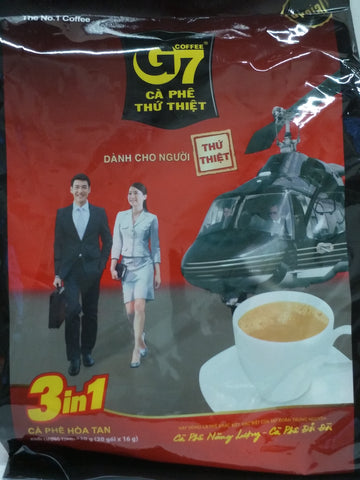 G7 3 in 1 Instant Coffee 16g x20