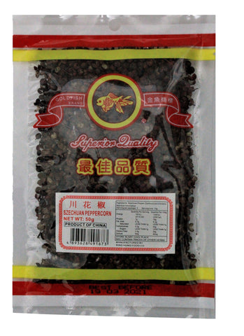 Gold Fish Szechuan Pepper Corn 50g