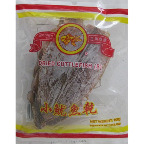 Gold Fish Dried Cuttle Fish (Small) 100g