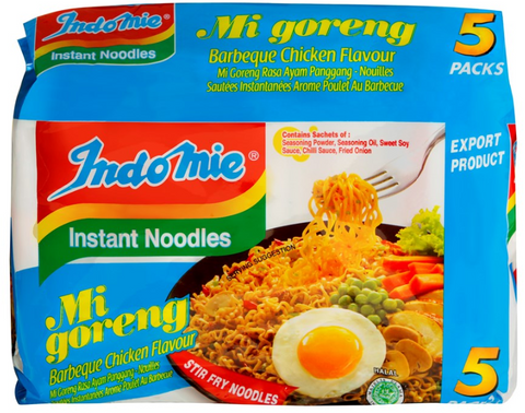 Indomie BBQ Chicken Noodle 85g X5