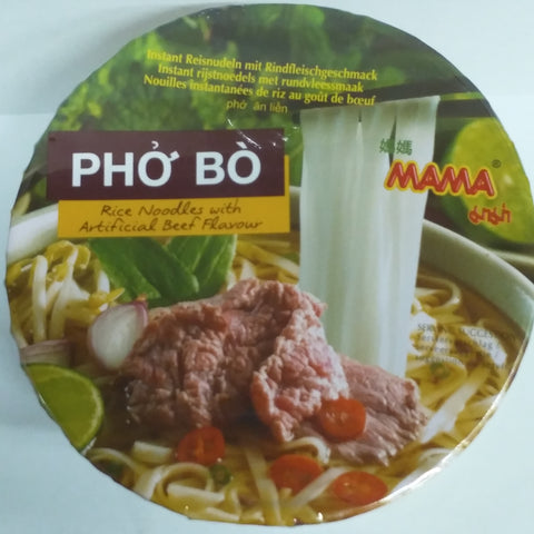 MaMa Rice Noodle with Beef Flavour 65g