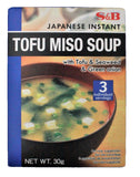 Picture of S & B Tofu Miso Soup 30g