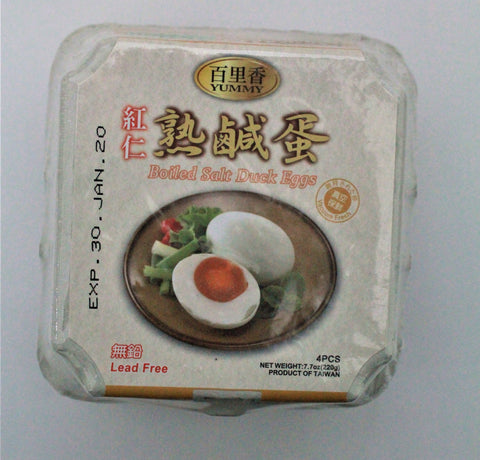 Picture of Yummy Boiled Salted Duck Eggs 4 pieces