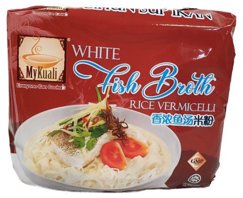MyKuali White Fish Broth Rice Vermicelli 90g x 4's
