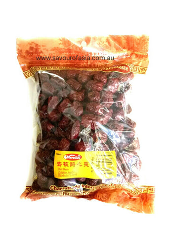 Microtaste Red Dates Ziziphus Jujuba ( Pitted ) 400g 去核鸡心枣