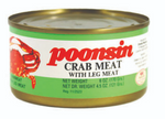 Poonsin Crab Meat with Leg Meat 170g