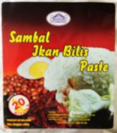 Richmond Sambal Ikan Bilis Paste ( Chili Anchovy ) 250g