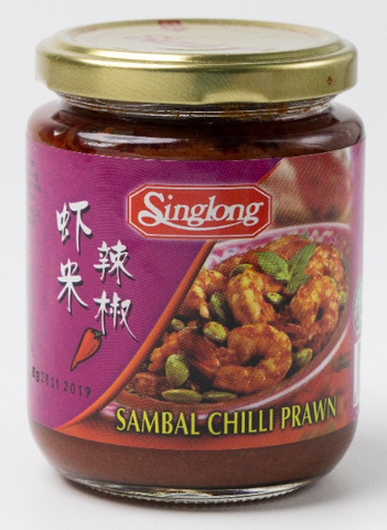 Sing Long Sambal Chilli Prawn 230g