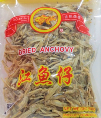 Golden Fish Dried Anchovy 500g