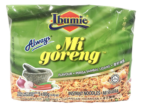 Picture of Ibumie Always Mi Goreng Sambal Udang 80g x 5's