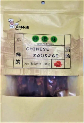 Chef Q Chinese Sausage (Spice and Numb) 200g