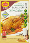 Claypot Black Pepper Taipan Chicken Herbs & Spices Mix 29g