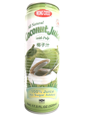 Picture of All Natural Coconut Juice With Pulp 520mL