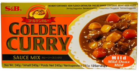 S & B Golden Curry ( Mild ) 240g