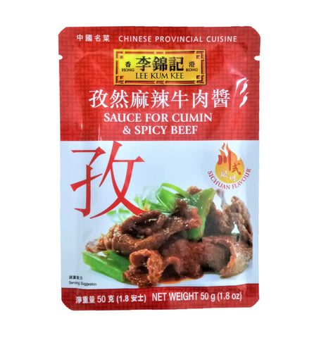 Lee Kum Kee Sauce for Cumin & Spicy Beef 50g