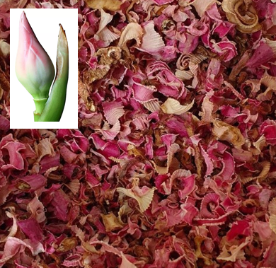 Torch Ginger Flower Bud (Bunga Kantan) in Dried Slices 50g