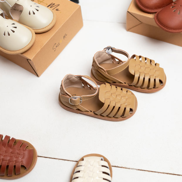 Roma Sandals - Toffee