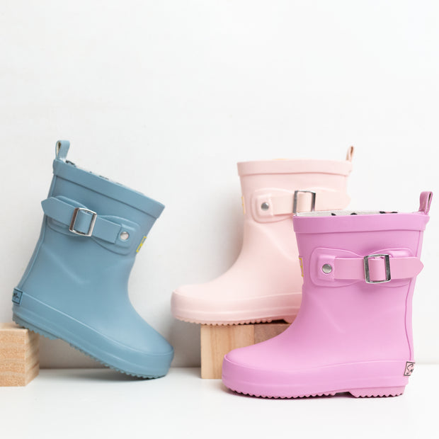 Rain Boots - Dusty Blue