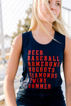 Baseball Season Tank - Fan Girl MN