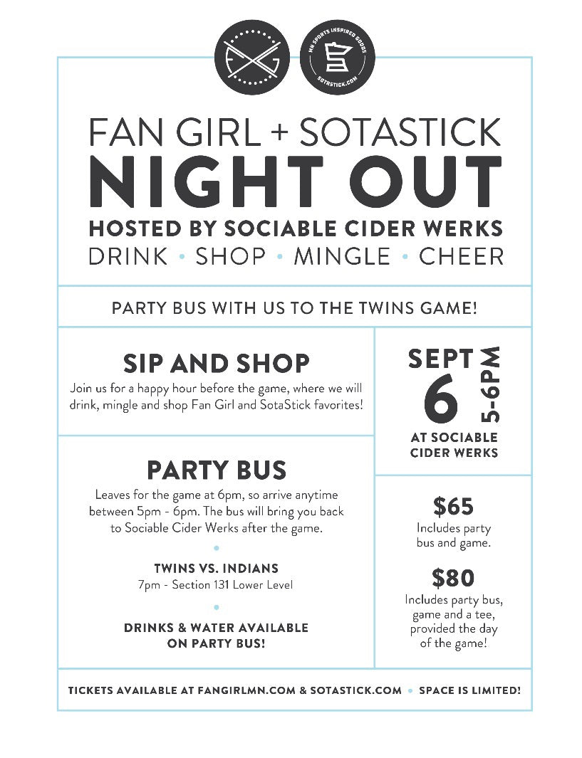 Twins Game + Party Bus