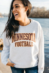 Minnesota Football Row the Boat Crew Neck - Fan Girl MN