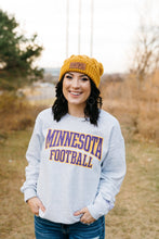 Minnesota Football Vintage Crew Neck - Fan Girl MN