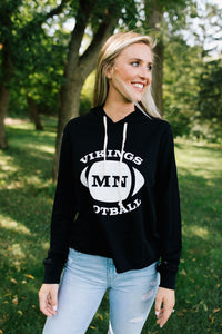 MN Football Burnout Hoodie - Fan Girl MN