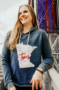 MN Twins Burnout Hoodie - Fan Girl MN