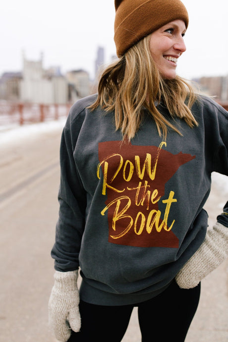 Row the Boat Crew Neck - Fan Girl MN
