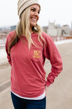 Row The Boat Long Sleeve Pocket Tee - Fan Girl MN