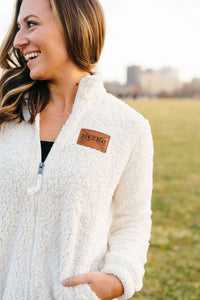 Row the Boat Sherpa Jacket - Fan Girl MN
